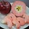 真赤なリンゴ、ほおばって!果肉にもアントシアニンが含まれる紅の夢
